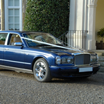 Yorkshire Wedding Cars - Bentley Arnage RL, front 3/4 view. Based near Harrogate, North Yorkshire.